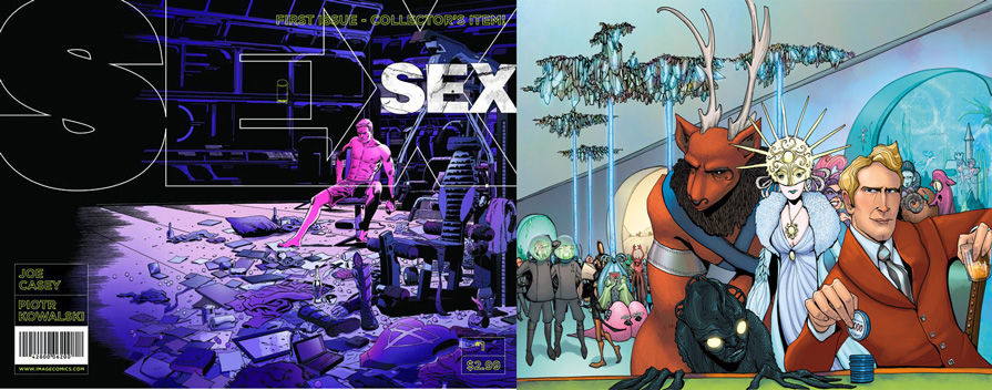 SEX #1 and Lost Vegas #1 Reviews