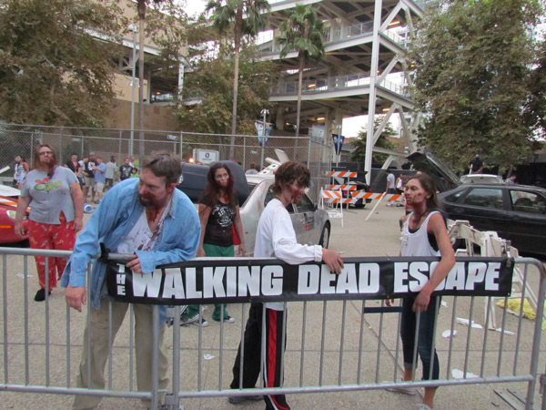 SDCC 2014 The Walking Dead Escape