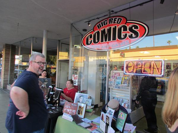 Big Reds Comics Orange CA Grand Opening