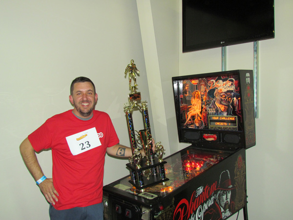Arcade Expo 2015 Pinball Tournament