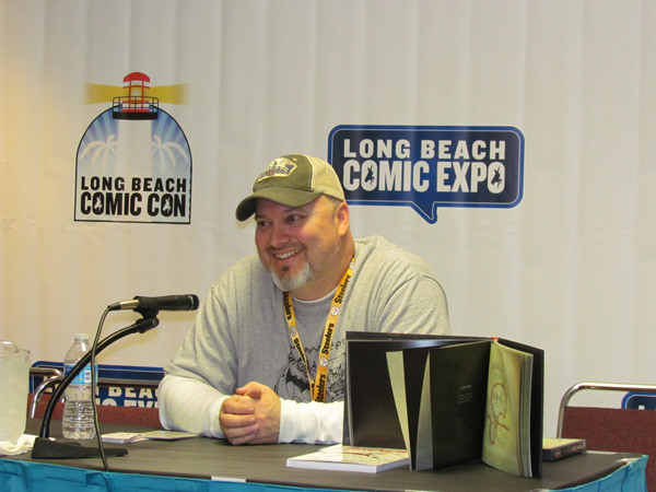 Long Beach Comic Con Expo Mike Kunkel Panel