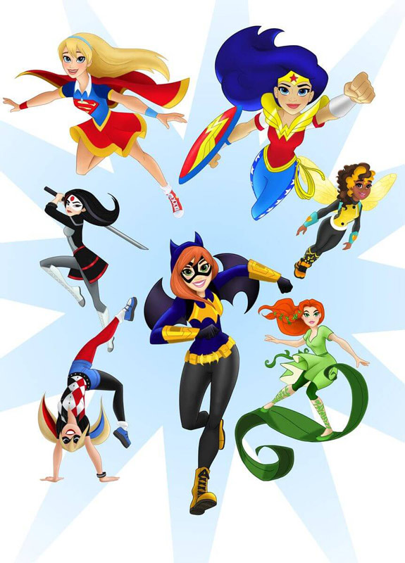 DC And WB Launch DC Super Hero Girls