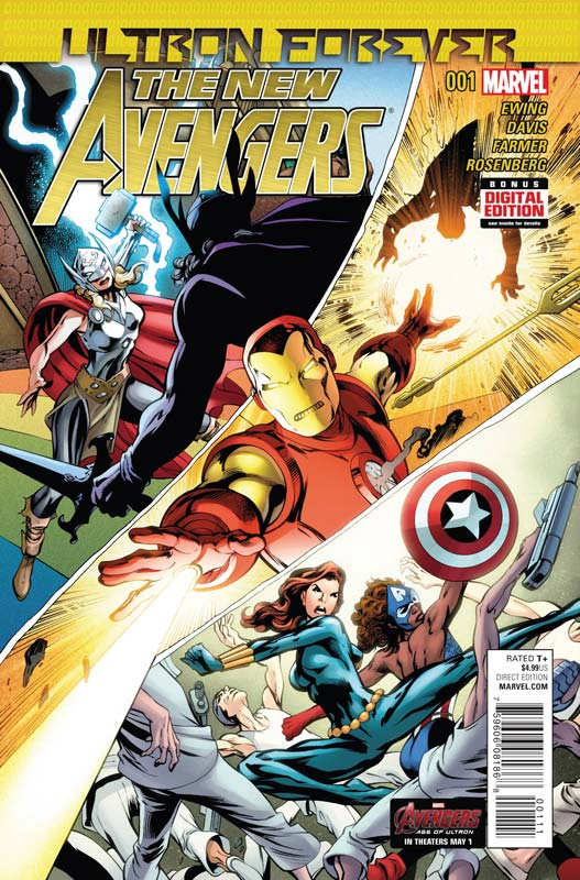 New Comic Book Reviews Week Of 4/29/15