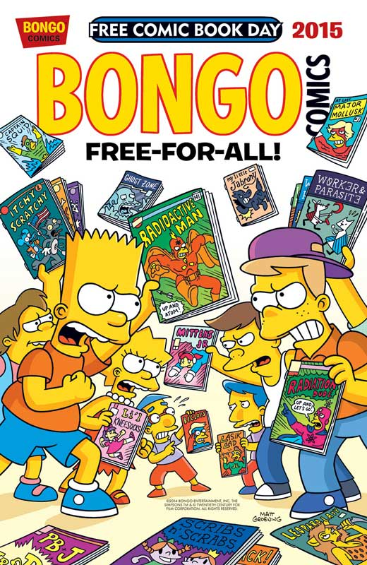 Free Comic Book Day 2015 At Big Reds Comics