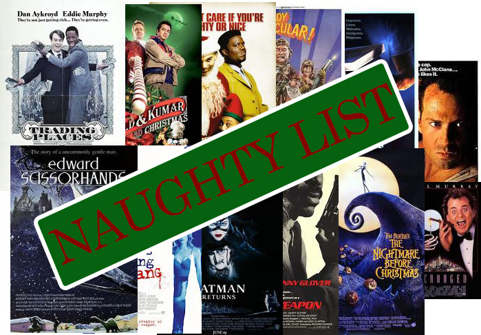 Naughty Movie List