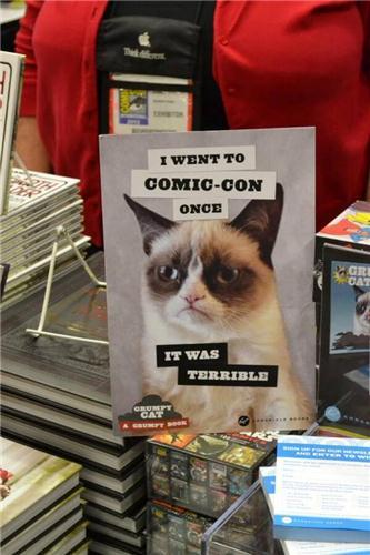 grumpy cat sdcc