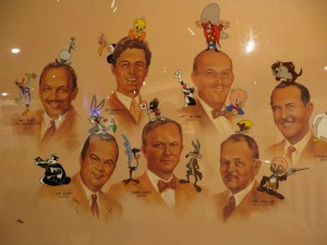 The Warner display seemed to be the most comprehensive tribute to the great animators of Termite Terrace.