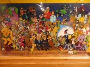 Part of the Hanna/Barbera display.