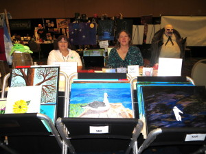 The Frog Princess Art table.