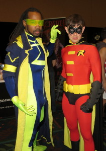 Robin and Static Shock