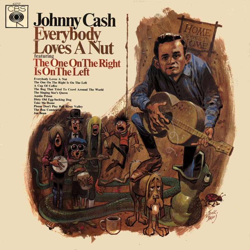 JOHNNY-CASH---Everybody-Loves-A-Nut