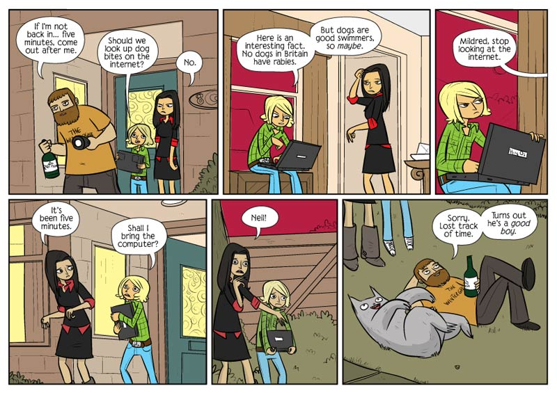 Tales From The Shelf: Bad Machinery The Case of the Good Boy