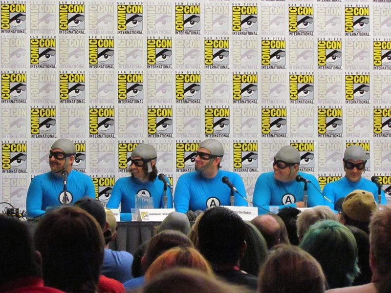 SDCC 2014 Aquabats! Super Show!