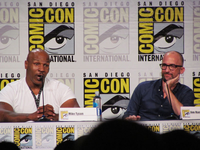 SDCC 2014 Mike Tyson Mysteries
