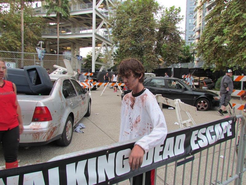 SDCC 2014 The Walking Dead Escape