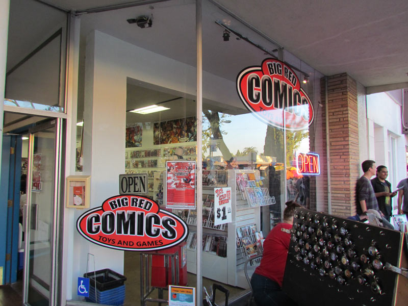 Big Red Comics Orange CA Grand Opening