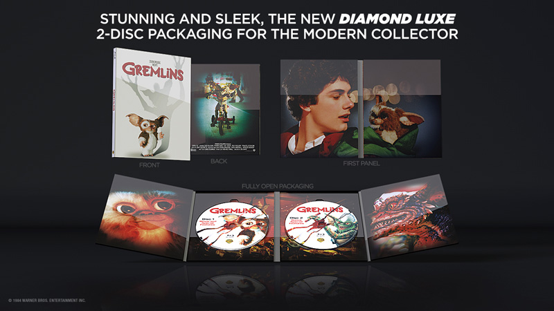 Gremlins Diamond Luxe Edition Blu Ray Review