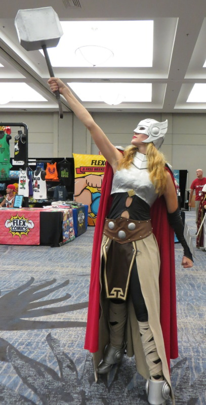 Thor. I have to say that she totally nailed it.