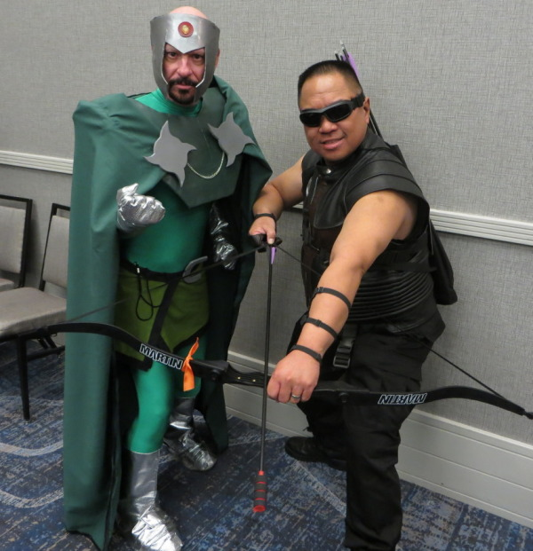 Professor Chaos and Hawkeye