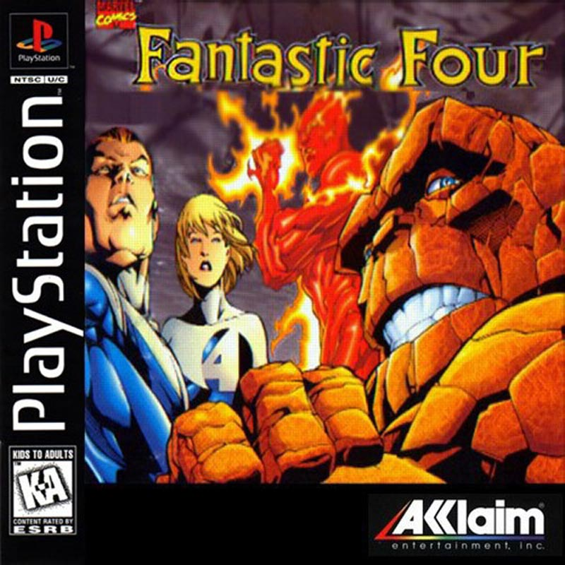 Fantastic Four PS1 Review