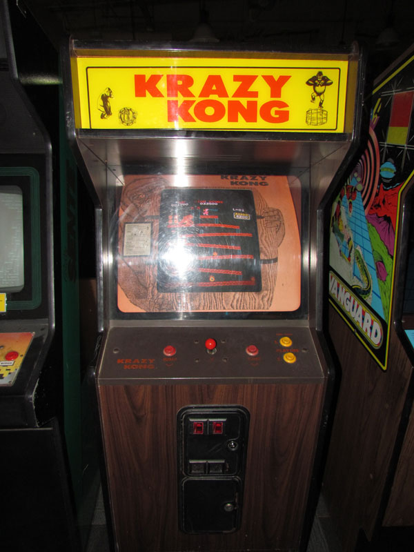 Krazy-Kong-on