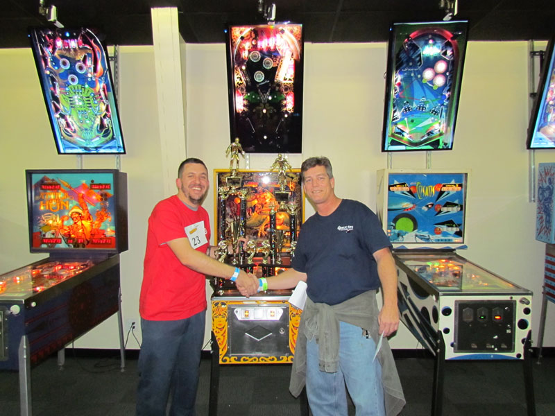 Arcade Expo 2015 Pinball Tournement