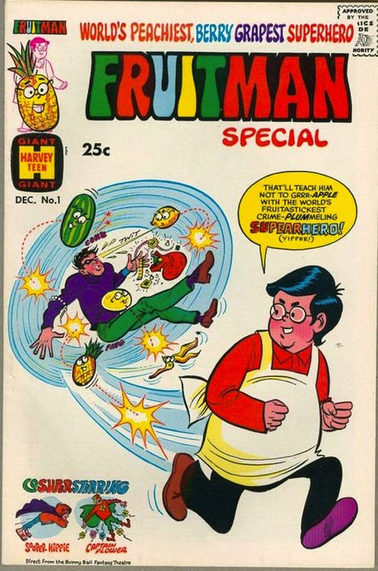 fruitman-comic-book