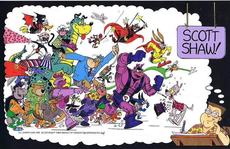 scott-shaw!-characters