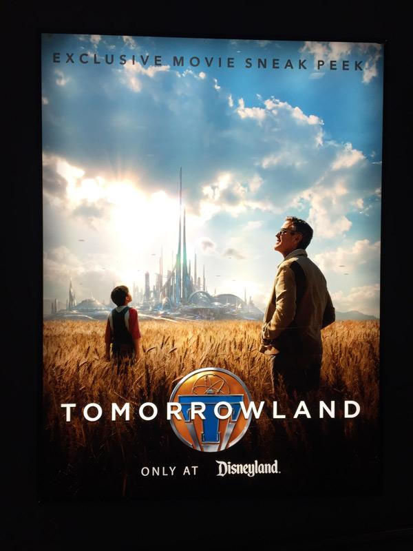 Tomorrowland Sneak Peek At Disneyland