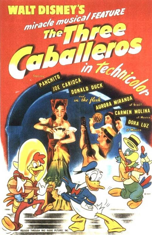 three_caballeros-poster