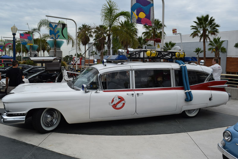 Long Beach Comic Con 2015: Car Parade