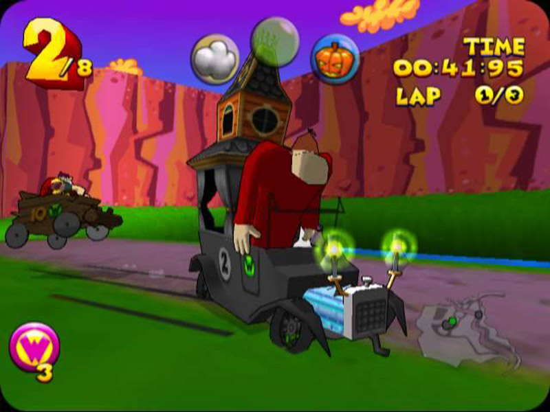 Retro Game Review: Wacky Races Dreamcast
