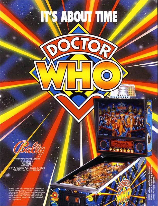 Pinball Arcade: Doctor Who Review